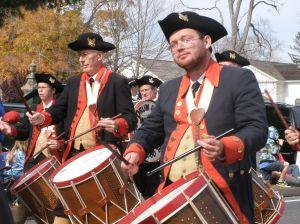 Brown drums were in abundance.